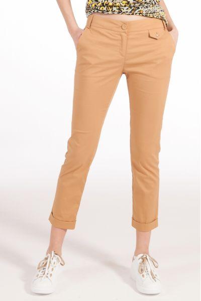 Pantalone in Popeline di Cotone di Patrizia Pepe