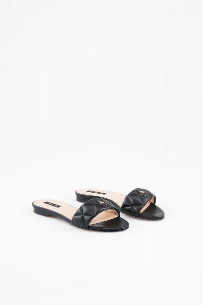 Sandalo Ciabatta di Patrizia Pepe Nero