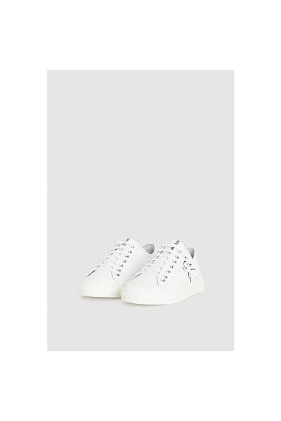 Sneaker in Pelle di Patrizia Pepe Colore Bianco