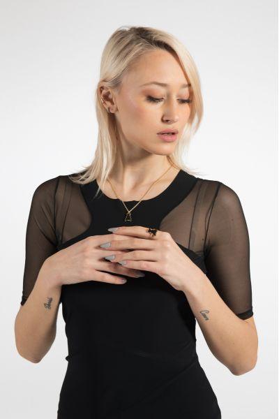 Collana Be Fly di Patrizia Pepe Gold/Black