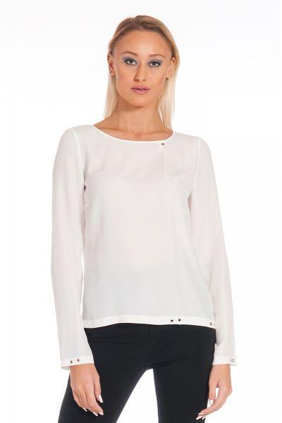 Blusa Fluida di Patrizia Pepe Color Bianco