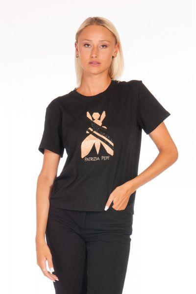 Tshirt con Fly Essential di Patrizia Pepe