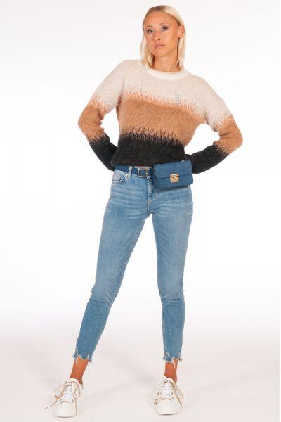 Jeans Skinny con Marsupio di Liu Jo