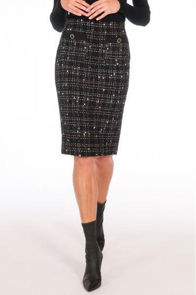 Gonna Longuette in Tweed di Liu Jo
