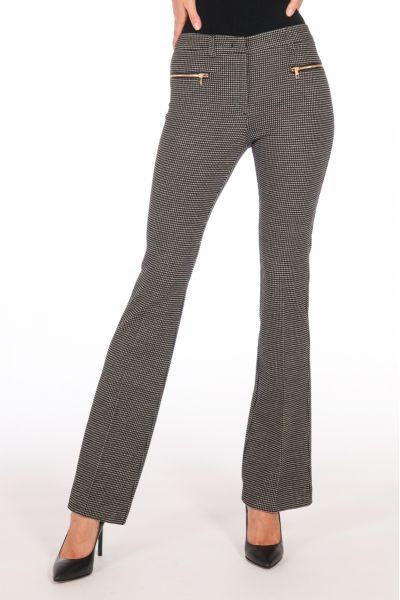 Pantalone Bootcut Jacquard di Liu Jo