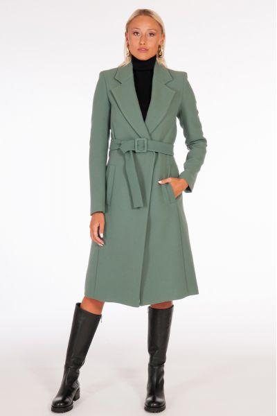 Cappotto con Cintura Essential di Patrizia Pepe